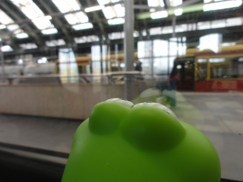 Froggy at Ostbahnhof