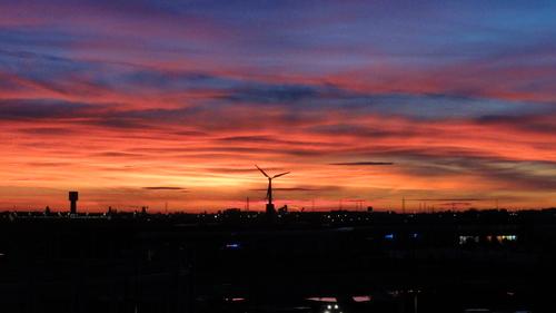 Wind Power Station at Senart
