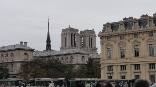 The towers of Notre Dame
