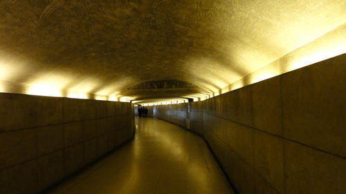 Tunnel under Arc de Triomphe