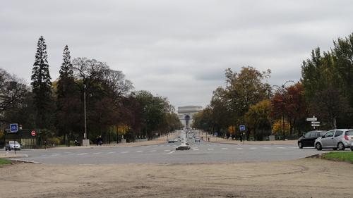 Avenue Foch towards Etoile