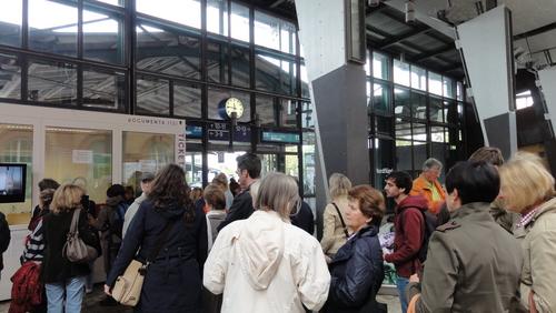documenta 13, Kassel Hbf, ticket office