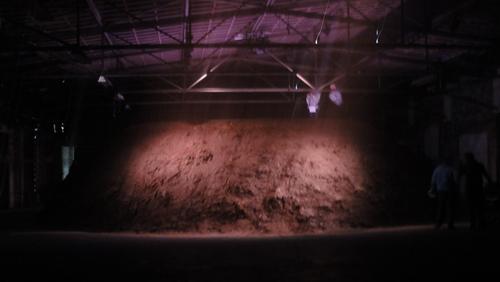 documenta 13,  Lehmhaufen