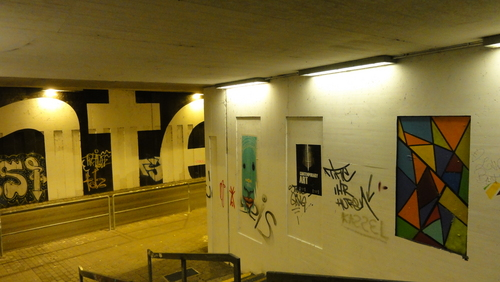 documenta 13, subway Weinberg
