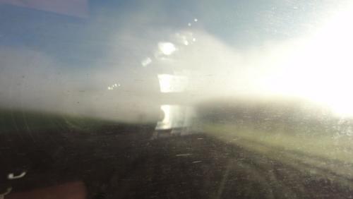 Morgennebel zwischen Bayreuth und Lichtenfels