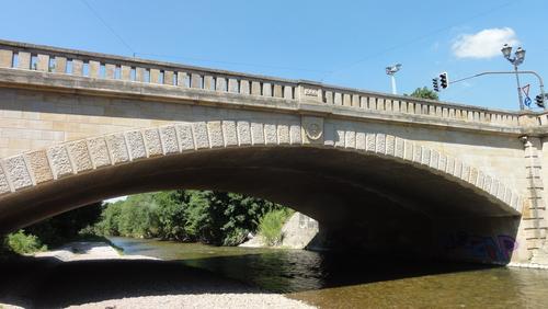 Erfurt, am Flutgraben