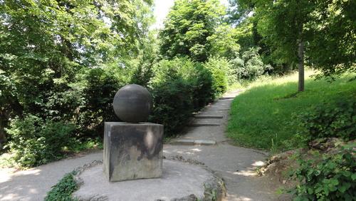Weimar, Goethes Garten, Agathe Tyche