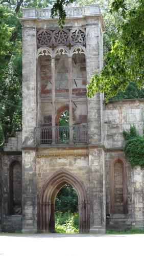 Weimar, Park an der Ilm, Tempelherrenhaus