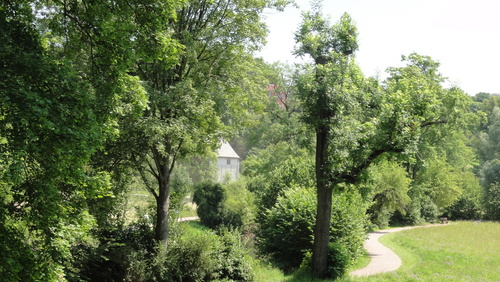 Weimar, Park an der Ilm, Goethe Gartenhaus