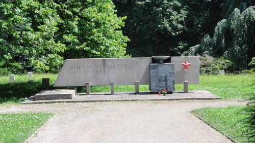 Weimar, Sowjetischer Kriegsfriedhof
