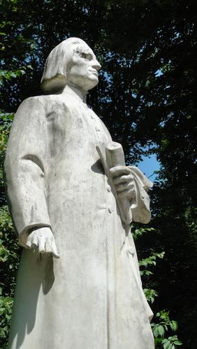 Weimar, Park an der Ilm, Liszt Denkmal