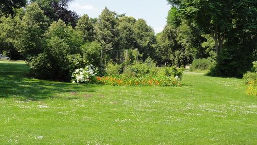 Weimar, Park an der Ilm, Beim Römischen Haus