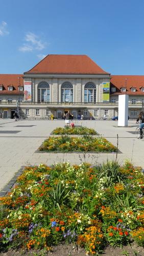 Weimar, Am Bahnhof