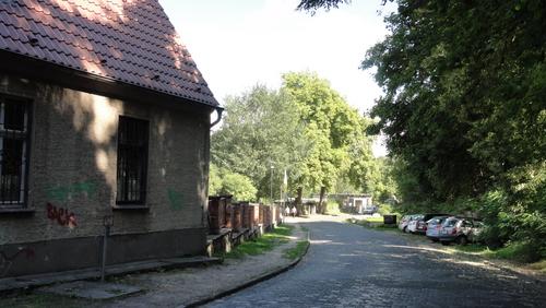 Zufahrt zum Park