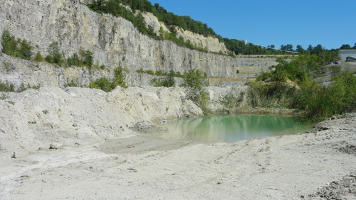 in the pit, rest of Heinitz-See