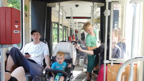 Tram back to Berlin