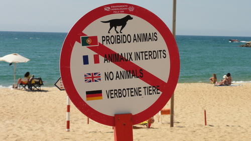 Vilamoura Beach Pictograms ?