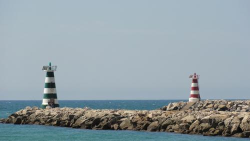 Vilamoura Marina Lighthouses