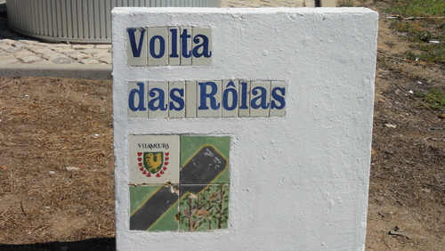 Vilamoura Street Sign