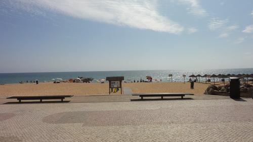 Quarteira Beach