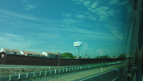 Highway to Lisboa, entering Almada County