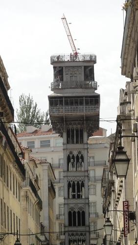 Lisboa, Elevador de Santa Justa