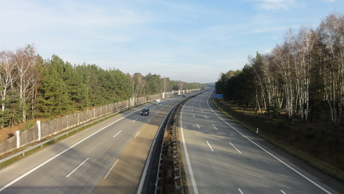 Alte Potsdamer Landstraße / Autobahn to the North