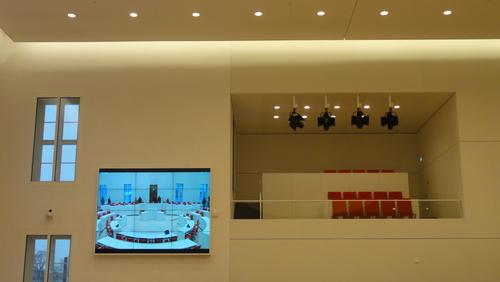 Potsdamer Landtag / Plenarsaal / Pressetribüne