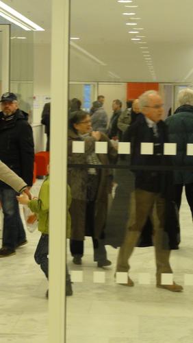 Potsdamer Landtag / Besucher
