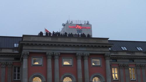 Potsdamer Landtag und Hotel Mercure