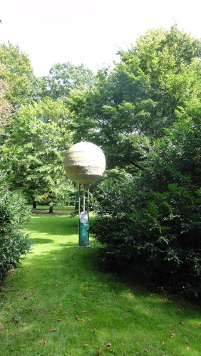 Cottbus Carl-Blechen-Park, Planet Model