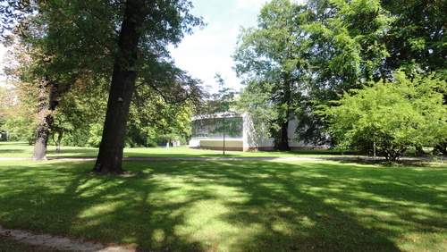 Cottbus Carl-Blechen-Park, planetarium