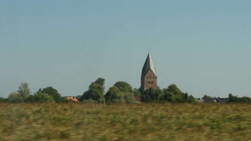 From Lübeck to Fehmarn: Village Church