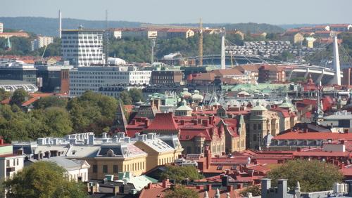 Gothenburg, View from Skansen Kronan
