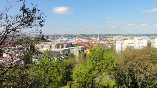 Gothenburg, Landala