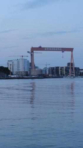 Gothenburg:  Hafen