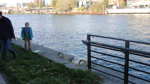 Banks of River Spree Inspection