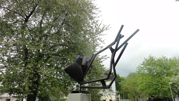 Kettwig, Skulptur aus Zecheneisen