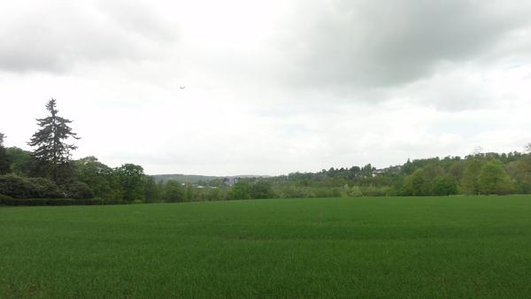 Oefte, Golfplatz, Blick auf Werden