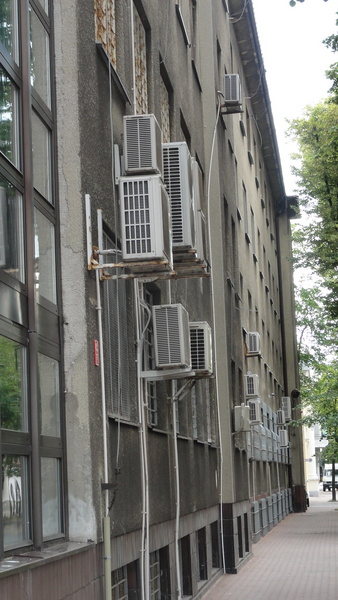 Warszawa, Air conditioning