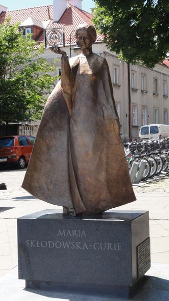 Warszawa, Nowe Miasto, Marie Curie Memorial