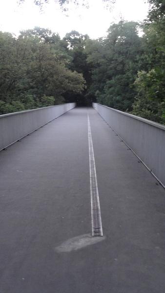 Warszawa, Brücke am Ziemi PAN