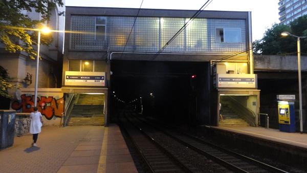 Warszawa, Tunnel Mouth and Bridge Head Al.3 Maja