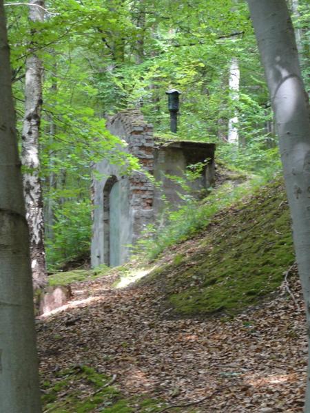 Ilmenau, Goethe Wanderweg, Wasserwerke