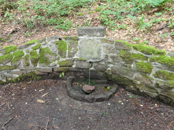 Ilmenau, Goethe Wanderweg, Bertha's Quelle