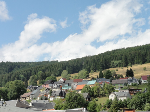 Ilmenau, Goethe Wanderweg, Manebach