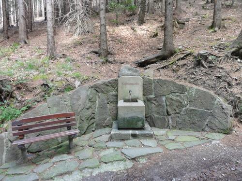 Ilmenau, Goethe Wanderweg, Helenenruh