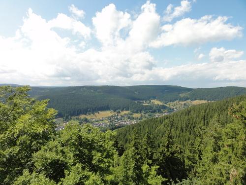 Ilmenau, Goethe Wanderweg, Hermannstein