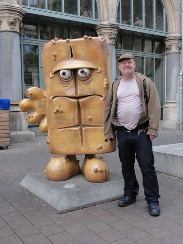 Erfurt: Markus und Bernd, das Brot