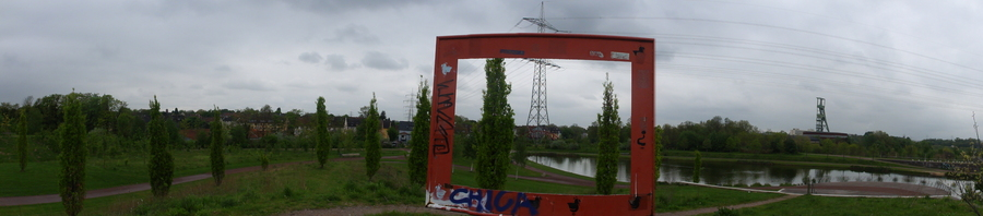 Essen, Krupp-Park, Teich
